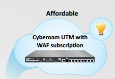 استفاده از اشتراک مقرون بصرفه فایروال وب اپلیکیشن بر UTM های سایبروم