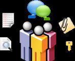 آرشیو و کنترل پیام سایبروم | Cyberoam IM Archiving & Controls