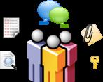 آرشیو و کنترل پیام سایبروم   Cyberoam IM Archiving & Controls